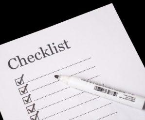 A Checklist of Suicide Prevention